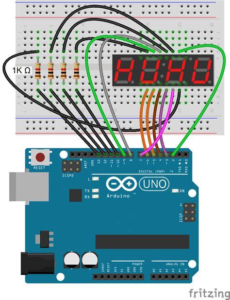 seven segment display driver wiring diagrams wiring