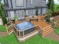 add stairs more storage plus patio and or garage house a low deck designed to add patio space over a swy area