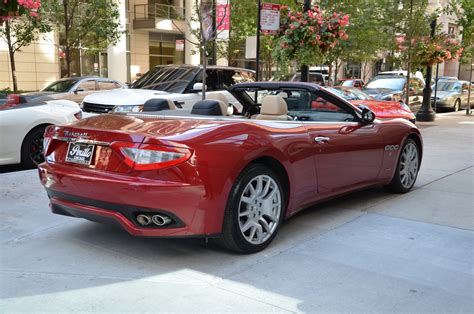 100 Maserati Granturismo Convertible Interior