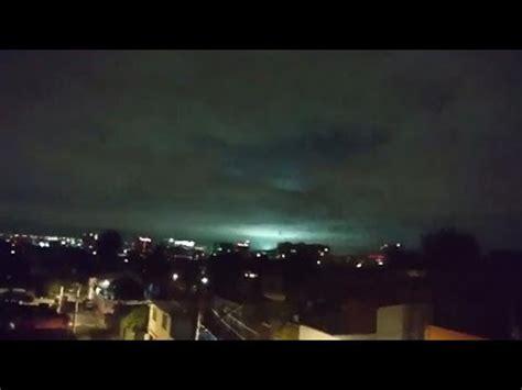 imagenes extrañas en el cielo 2017 luces en el cielo durante el terremoto de m 233 xico 8 2