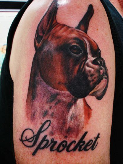 boxer dog tattoo designs boxer by mike parsons tattoos boxer