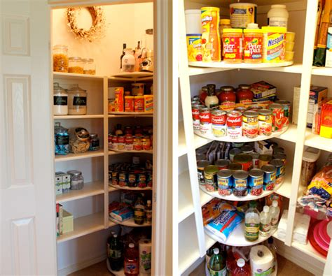 lazy susan organization a pantry rescued by lazy susans dc metro real estate