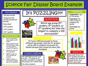 science fair board template science fair project boards exles science fair