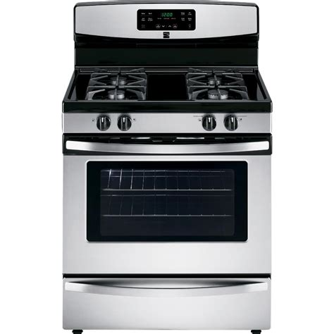 Gas Stove Easy To Clean Gas Range Sears
