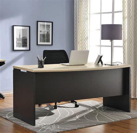 executive office furniture desk large wood home modern