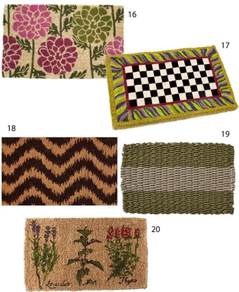 modern doormats get the look 20 modern doormats stylecarrot
