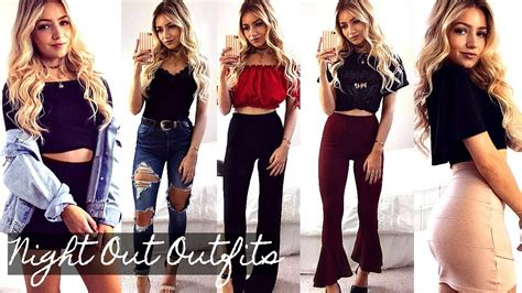 night  outfit ideas  lookbook youtube