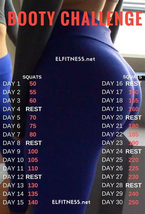 big booty squat challenge best 25 30 squat challenge ideas on pinterest 30 day