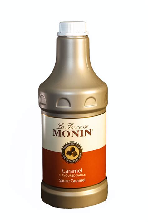Monin Caramel Sauce from The Coffee Place