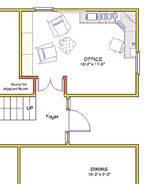 home office floor plan modern home office floor plans for a comfortable home