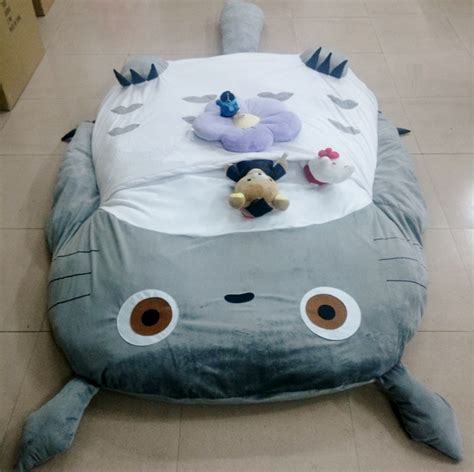 giant totoro bed totoro bed kids toys totoro double bed cushion bed sleeping bag sofa bed mattress sale