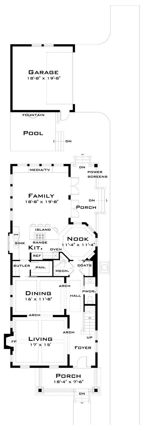 narrow lot floor plans 17 best ideas about narrow lot house plans on narrow house plans house 2 and