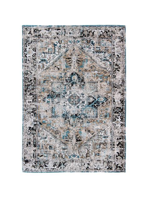 Louis De Poortere Heriz Golden Horn Rug at John Lewis