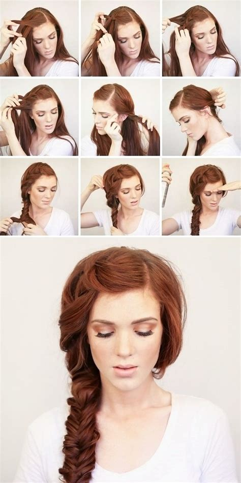 Hairstyles Tutorial by Fashionable Hairstyle Tutorials For Thick Hair
