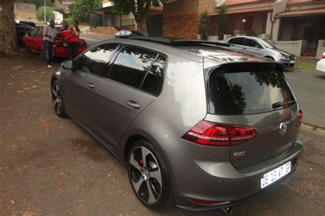 Price Of Golf Automatic by 2014 Vw Golf Golf 7 Gti Dsg Auto Cars For Sale In Gauteng