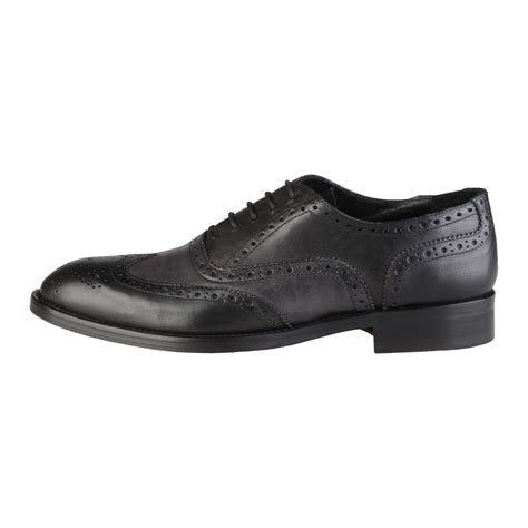 mattia wingtip oxford black size 44