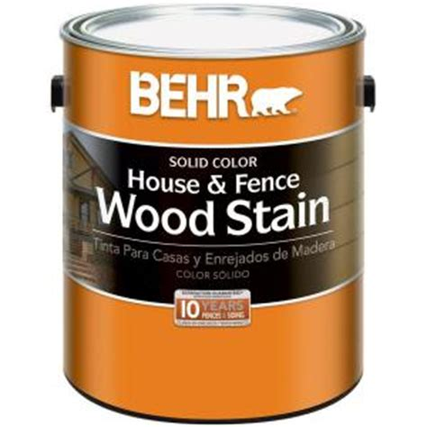 behr 1 gal white base solid color house and fence wood