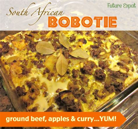 Discover South Africa Giveaway - eating healthy recipe south african bobotie future expat