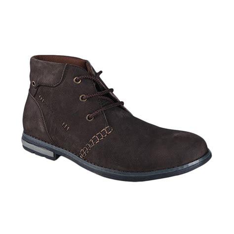 Sepatu Boots Pria Jim Joker jual jim joker casual boot berry 03b sepatu pria coffee