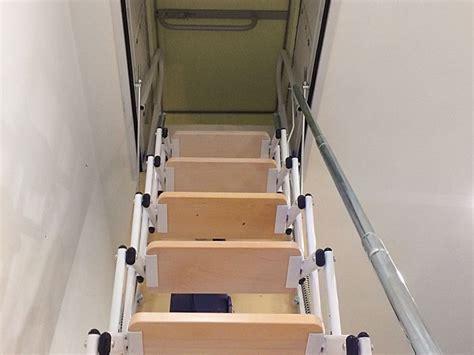 scale da soffitta scale a scomparsa su misura a scale retrattili