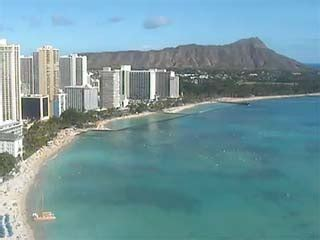 beach cams  oahu hawaii webcams  waikiki beach