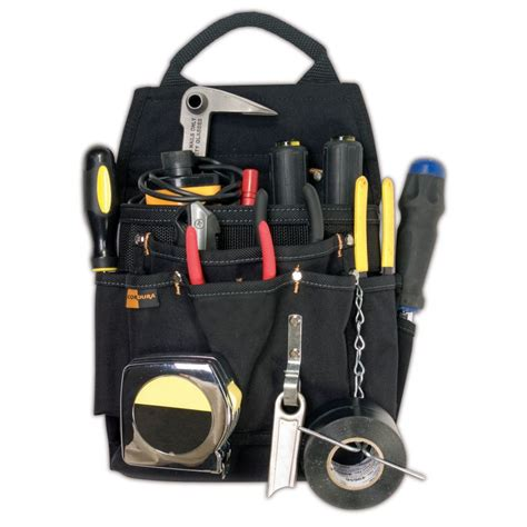 kuny s 11 pocket professional electrician s pouch the home depot canada