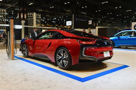 motor show 2017 chicago auto show the new bmw i8 protonic