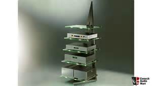 Glass Audio Rack Schroers Amp Schroers Glass Audio Rack Photo 439033
