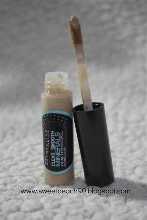 Maybelline Clear Smooth Minerals Healthy Concealer sweet review maybelline clear smooth minerals concealer medium sand