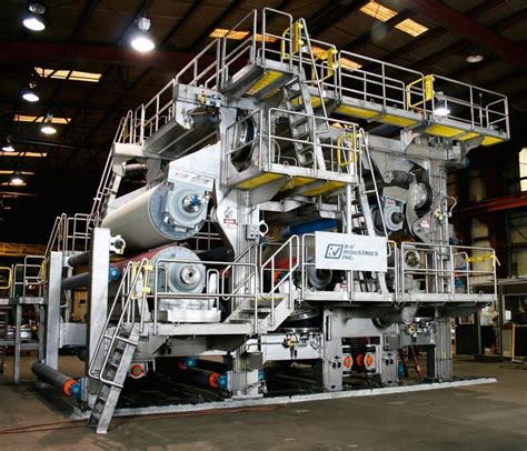 Paper Machines - paper mill equipment manufacturer r v industries inc