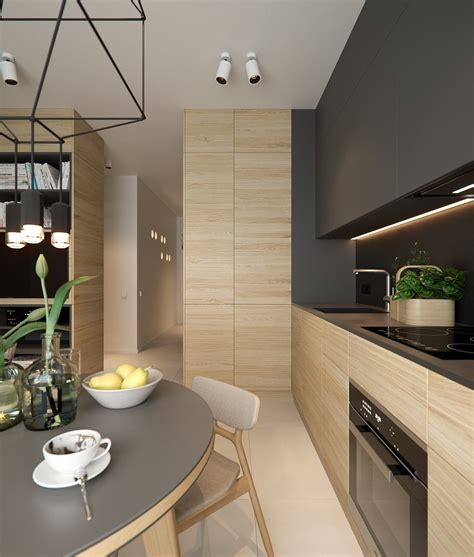 apartment kitchen design 4 small apartment interiors embracing character themes