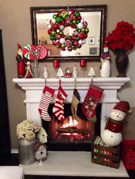 chimenea de navidad ideas para decorar chimeneas en navidad