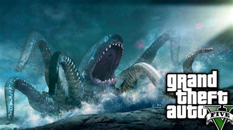 calamares gigantes del mito y la leyenda a la realidad gta v online misterio o mito quot kraken de gta 5 quot pulpo