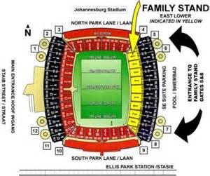 Ellis Park Floor Plan Confederations Cup Final Tickets