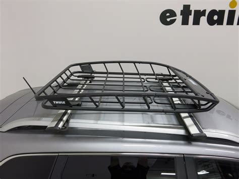 Jeep Roof Top Cargo Carrier 2016 Jeep Thule Roof Cargo Basket Steel