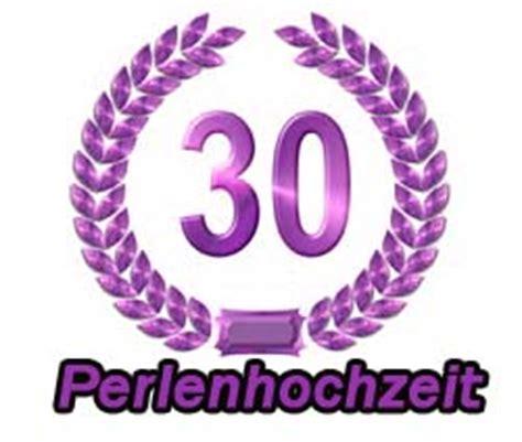 Hochzeit 30 Jahre by Perlenhochzeit Spr 252 Che W 252 Nsche Zum 30 Hochzeitstag