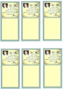 prayer cards template free hail prayer cards and bookmarks ukok s place