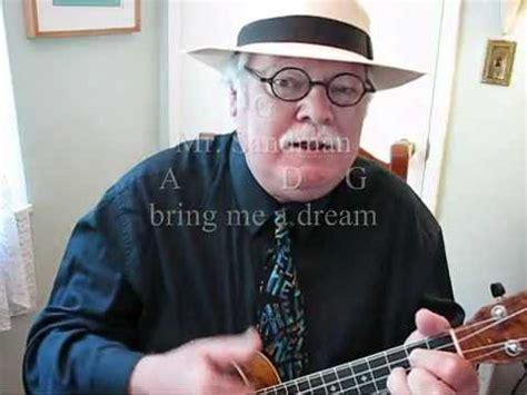 ukulele lessons youtube mister sandman for the ukulele ukulele lesson tutorial