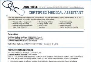 Examples Of Medical Assistant Resume Pinterest The World S Catalog Of Ideas