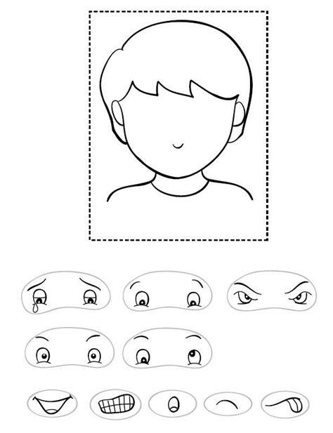 kindergarten activities my face r6u bmp okul 246 ncesi etkinlik pinterest worksheets