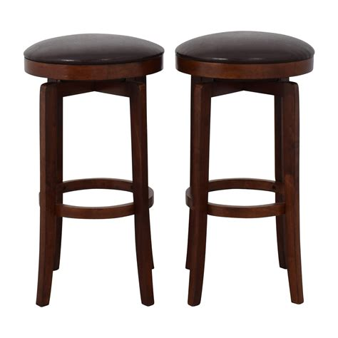 Brown Backless Bar Stools by Brown Leather Backless Bar Stools 90 Jc Jc