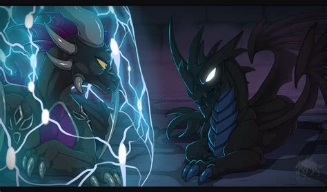 Kaos Doom Black T1530 T skylanders dragons of darkness by weirdhyenas on deviantart