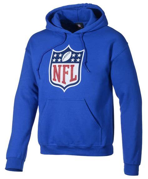 Hoodie Sweater Nf Front Logo nfl logo football hoody hoodie sweatshirt hoody navy blue size xl ebay