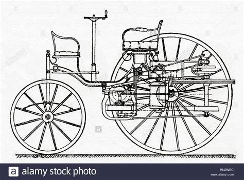 An Early Benz Patent Motor Car The First Automobile 1885