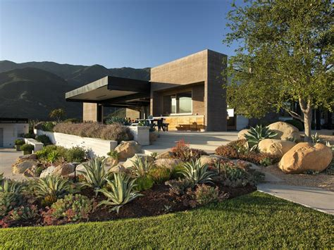 Landscape Architecture House A Modern Architectural Masterpiece In California