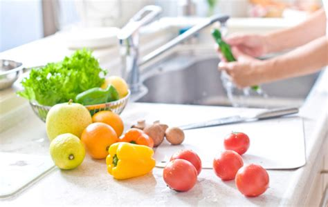 fruit and vegetable wash how to wash produce s health