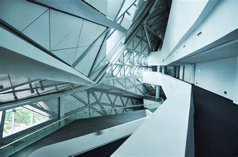 Interior Column Designs zaha hadid architects guangzhou opera house