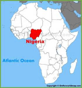 Where Is Nigeria On A World Map by Related Keywords Amp Suggestions For Nigeria On World Map
