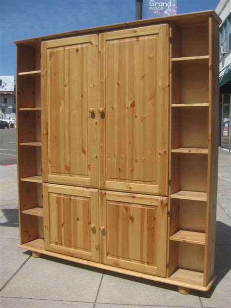 Uhuru Furniture Collectibles Sold Pine Tv Armoire 85