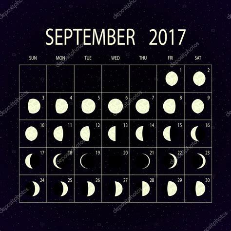 Calendario Lunare Settembre 2017 Calendario Fasi Della Per Il 2017 Settembre